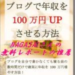ナガサイさんの【ブログで年収を100万円UPさせる方法】の推薦!子持ちの副業でも成功するコツ!