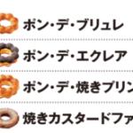 ミスドのポンデブリュレと焼きプリンの違いは?カロリーが一番高いのはどれ?
